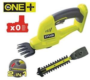 Ryobi One+ OGS 1821 Cordless Shear and Shrubber on clearance £37.49 instore at Homebase