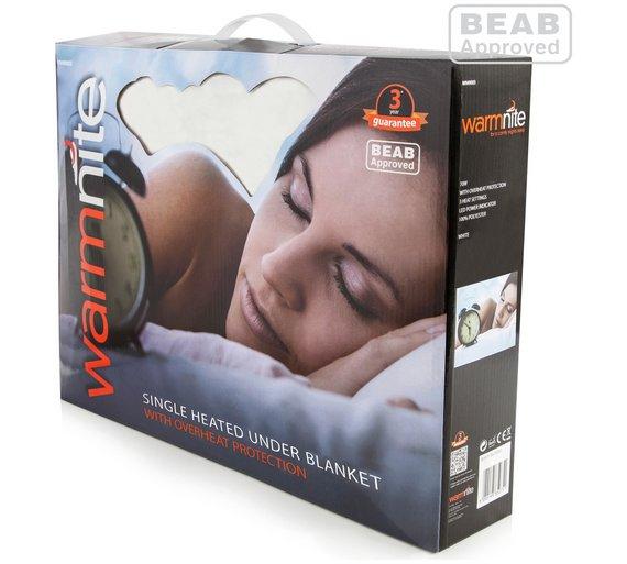 warmlite electric blanket single was. Black Bedroom Furniture Sets. Home Design Ideas