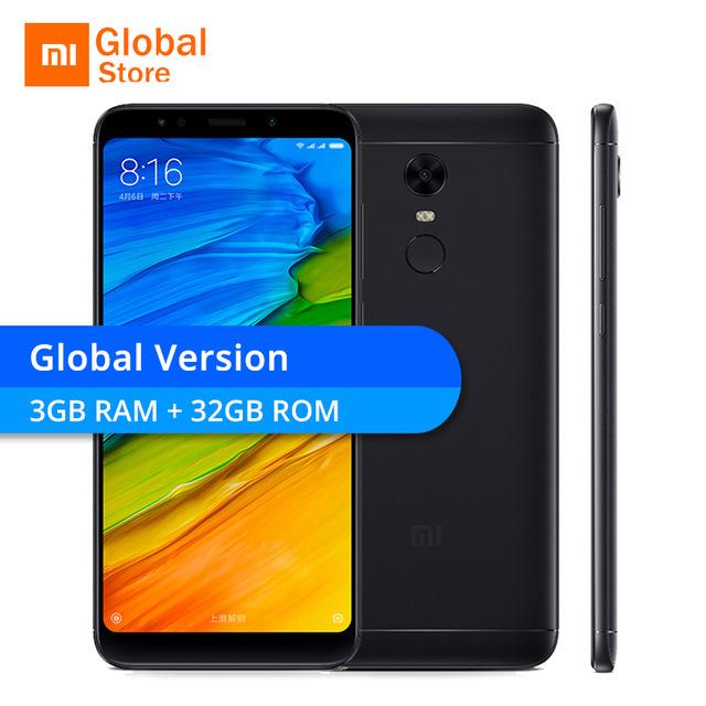 Global Version Xiaomi Redmi 5 Plus 32GB ROM 3GB RAM £104.87 @ aliexpress (Mi global store)