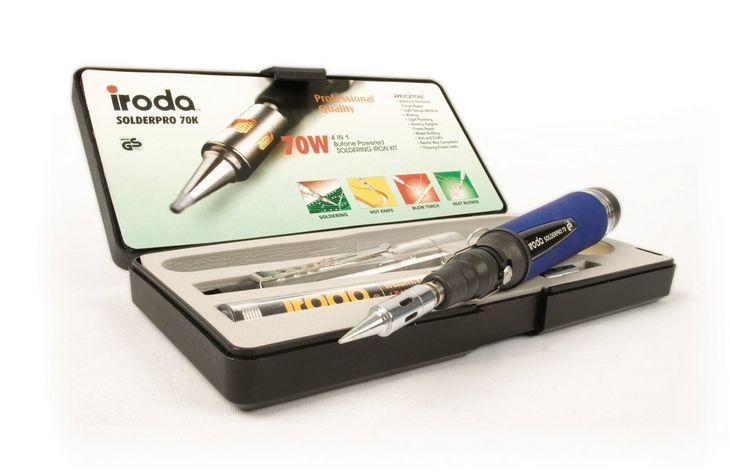 Pro-Iroda Solderpro 70W Gas Soldering Iron Kit from maplin £15.75