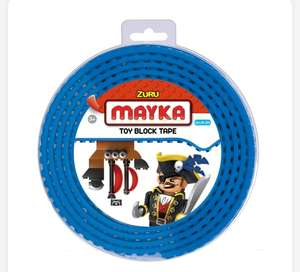 Mayka stud tape for Lego or similar blocks 2 metres Clearance £5 @ Smyths Birstall