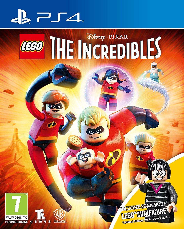 LEGO The Incredibles Mini Figure Edition (PS4) (Xbox One)  prime price £38 / non prime £40 @ Amazon