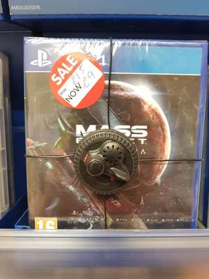 Mass Effect Andromeda (PS4 & Xbox One) only £9! Instore @ Asda (Found in Asda Hamilton 3 on shelf)