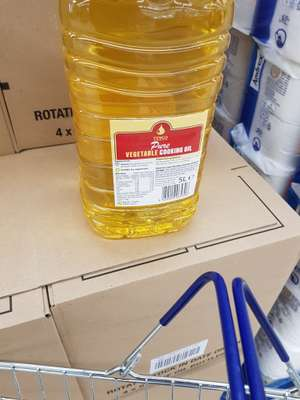 Tesco Vegetable Oil (Rapeseed oil) 5 litre £3.50 instore