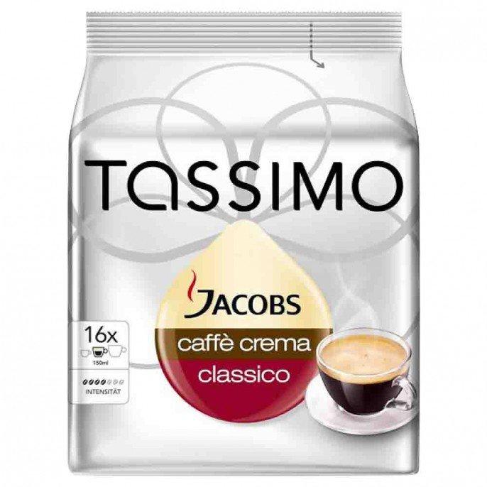 Tassimo jacobs caffe crema classico / cafe au lait classico 16 pods £3.49 @ Poundstretchers