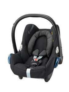 Maxi-Cosi Cabriofix Group 0+ Car Seat, Black Raven - £85.50 @ Amazon (temporarily out of stock)