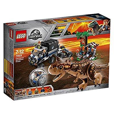 LEGO 75929 Jurassic World Carnotaurus Gyrosphere Escape Building Set - £54.99 @ Amazon (with Prime)
