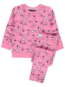 Mouse Print Sweatshirt & Joggers Set upto age 3 now £5 @ Asda