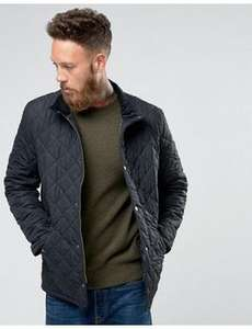 Barbour Chelsea Sports Quilted Jacket in Navy XL £78.75 @ Asos