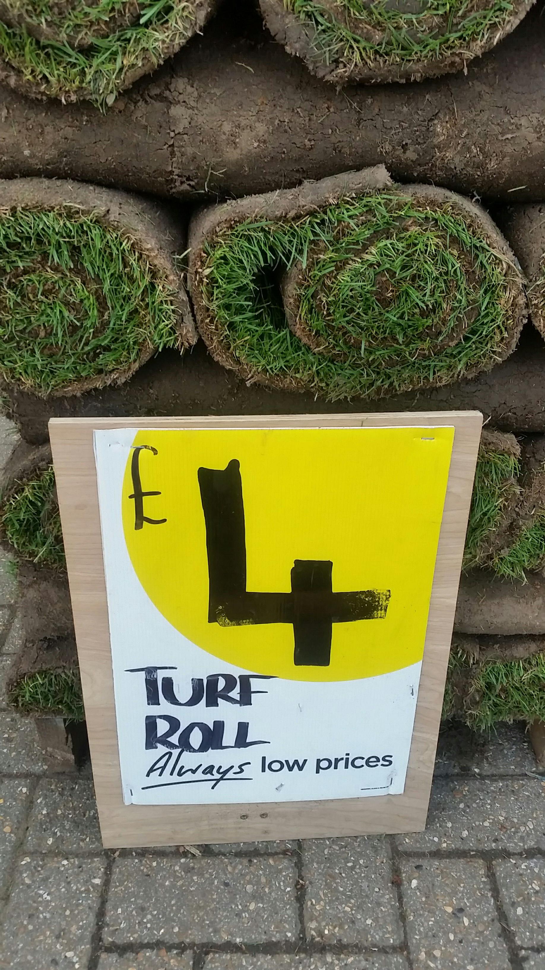 Turf £4 at Homebase Croydon
