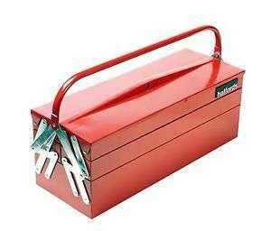 Halfords Professional Cantilever Tool Box Red 5 Trays Heavy Duty Metal. £12 @ Halfords eBay. Free C&C
