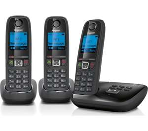 GIGASET AL415A Cordless Phone with Answering Machine - Triple Handsets £39.99 @ Currys
