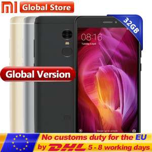 Global Version Xiaomi Redmi Note 4 3GB 32GB SD625 @ aliexpress Store: Mi Global Store