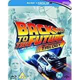 Back to The Future Trilogy [Blu-ray] [1985] [Region Free] @ amazon music magpie (used, like new)