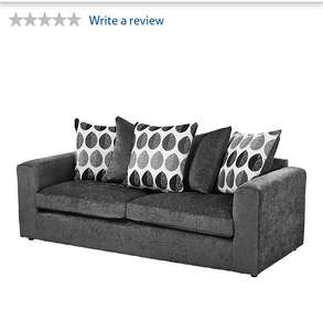 Tesco 3 seater sofa for £224 + £25 standard delivery = £249