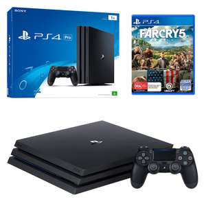 Playstation 4 Pro & Farcry 5 bundle @ Sainsbury's Instore £349.99