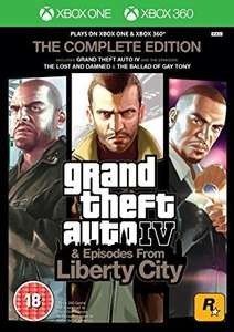 Grand Theft AutoIV Complete Edition Xbox 360/Xbox One £5 @ Smyths Instore