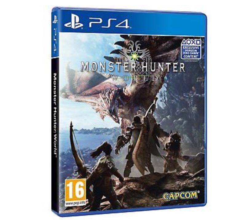 Monster Hunter (used) @ Boomerang Games EBay - £29.99 - PS4