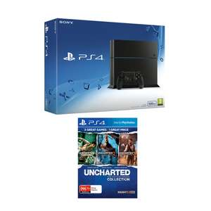 Sony PlayStation 4 500GB Console With Uncharted The Nathan Drake Collection £216.44 Delivered with W15 Code More PS4 & Xbox One S Deals in OP @ Bargain Crazy