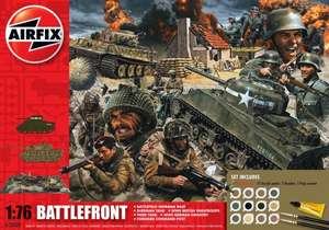 Airfix Battlefront (A50009) 1:76 Diorama Gift Set only £9.99 @ Home Bargains instore.