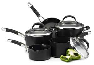 Circulon Premier Professional Hard Anodised Cookware Set , Black - 5 Piece £99 @ Amazon