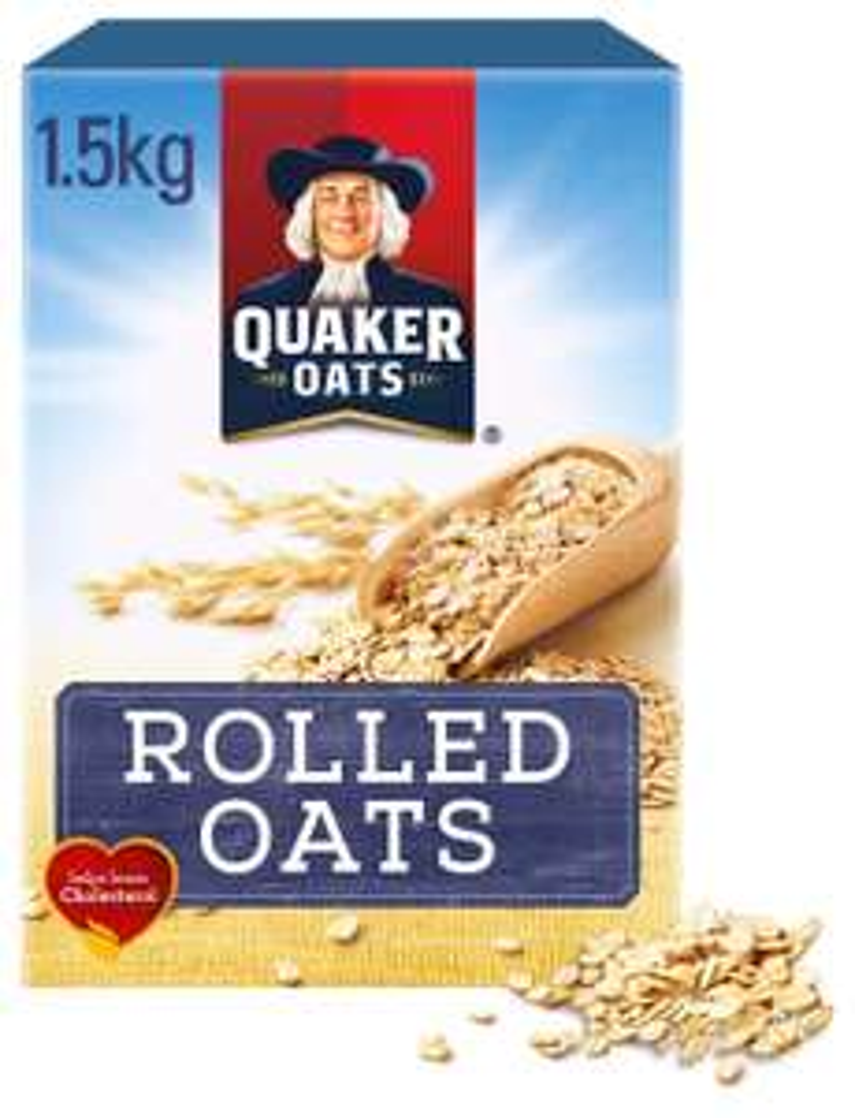 Quaker Porridge Oats 1.5kg - £2 instore @ Asda