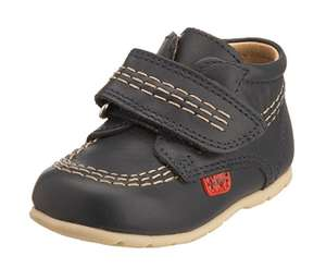 Kickers Infant Kick Hi B Strap Kids Unisex Baby Shoes - £13 - sold by tower of london with free delivery via Amazon