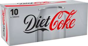 10 x 330ml Diet Coke cans at One Stop - £1.25