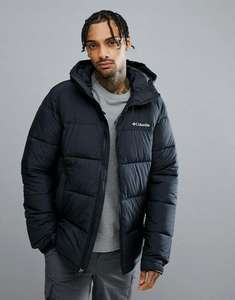Columbia Pike Lake Hooded Puffer Jacket in Black - £70.20 (with code) @ ASOS