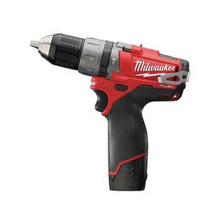 Milwaukee M12CPD 12V Brushless Combi Drill 2 x 2Ah Batteries, Charger & Case £113.96 Delivered angliatoolcentre