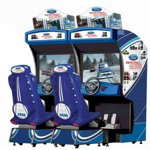 SEGA Ford Racing: Full Blown Twin Arcade Machine £4,995 at liberty games