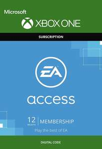 EA Access - 12 Month Subscription (Xbox One) £17.09 (With Apple Pay / Facebook like) @ CDKeys