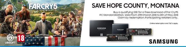 "Samsung 860 EVO 500GB 2.5"" SATA III SSD WITH FAR CRY 5 FREE £130.78 at CCL"