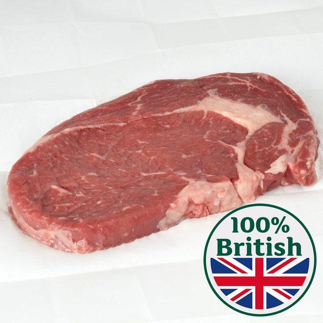 Half Price British Rib Eye Steak now £10 per kilo @ Morrisons