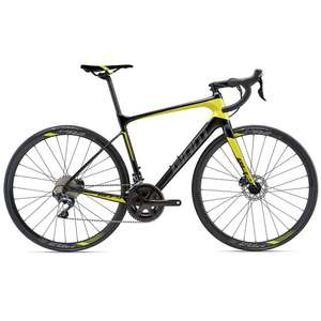 Free £170 road/aero/tt helmet with bike - 2018 Giant Defy Advanced 1 Shimano 105 - Carbon Endurance Road Bike £1849 @ H2gear