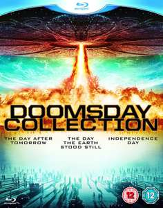 [Blu Ray] Doomsday Collection (Day the Earth Stood Still / Day After Tomorrow / Independence Day) - £3.99 - eBay/TheEntertainmentStore