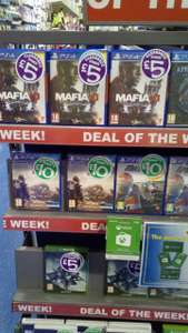 Destiny 2 Xbox one & Mafia 3 Ps4 in store £5 Farpoint VR £10 @ Smyth's Toys