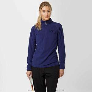 CRAGHOPPERS Women's Cove Half Zip Fleece, £10 at Blacks (£1c&c)