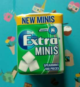 Extra minis chewing gum 100 pieces £1.50 @ Aldi