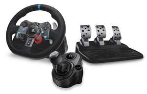 Logitech G G29 Driving Force Racing Wheel + Gear Shifter Bundle for PS4/PC and Logitech G920 for Xbox One /PC- Box.co.uk £179.99 delivered.