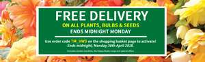 Free Delivery on Plants Seeds and Bulbs with Code @ Van Meuwen