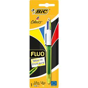 Bic 4 Colours Fluo / Original Pens £1 each / Oxford Small Geometry Set 75p / Stabilo Neon Highlighters £1.75 @ Wilko (more in OP)