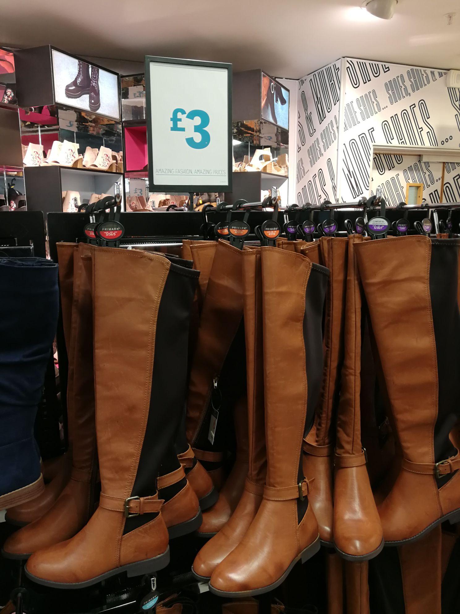 Knee length boots £3.00 Primark
