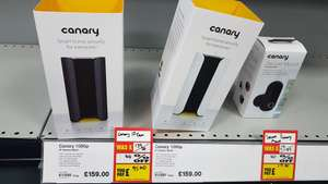 Canary security camera normally  £160 online down to £95.40 in-store @ Maplin Loughborough
