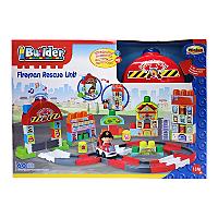 Fireman Rescue Unit Builder Set £10 @ Asda