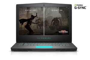 Alienware 15 Gaming Laptop - i5-7300, 8GB Ram, 1TB hdd - Was £1268.99 - now £934.14 with AW15 voucher @ Dell
