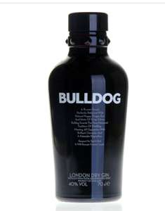 Bulldog London Dry Gin, 70 cl £15.99 prime / £20.74 non prime amazon deal of the day