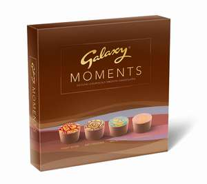 Galaxy Moments Smooth Milk Chocolates (Pack of 2) £6.15 prime / £10.14 non prime amazon