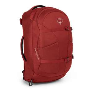 Osprey farpoint 40L red (both sizes in stock) at surfdome - £63.99 (with code) @ Surfdome