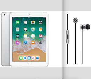 Free Beats Earphones when you bundle with a new 2018 Apple iPad from £318.99 @ BT Shop